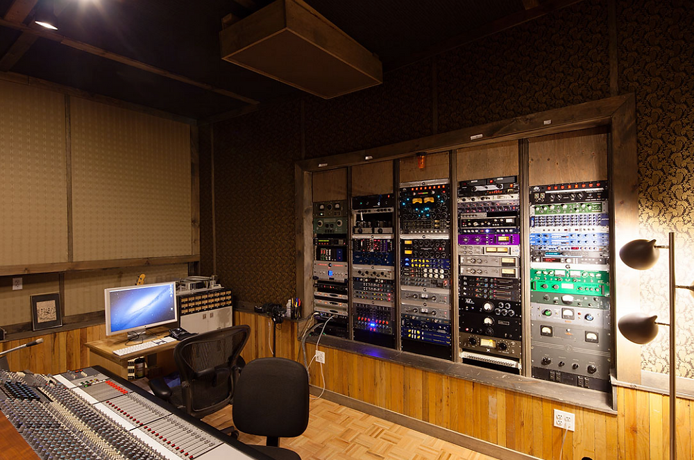 Studio G Brooklyn Studio B Control Room