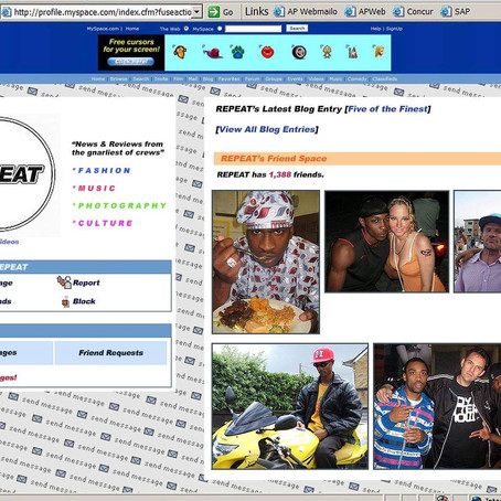 5 OF THE FINEST PHOTOS FROM GRIME'S MYSPACE YEARS
