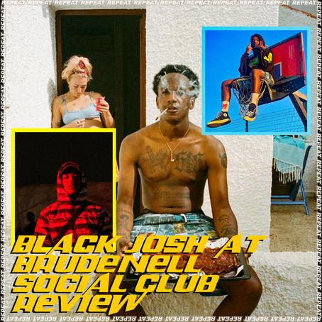 BLACK JOSH @ BRUDENELL SOCIAL CLUB REVIEW