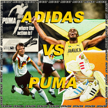 ADIDAS VS PUMA: HOW A SIBLING RIVALRY SPLIT A TOWN FOR 6 DECADES