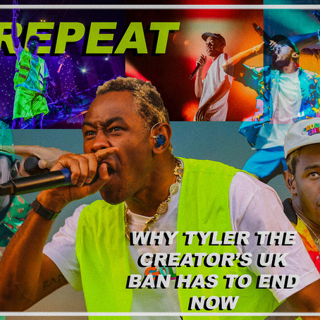 WHY TYLER THE CREATOR'S UK BAN HAS TO END NOW