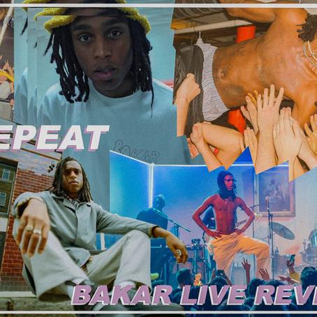 BAKAR LIVE AT HANGAR LONDON REVIEW