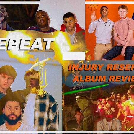 INJURY RESERVE - INJURY RESERVE ALBUM REVIEW