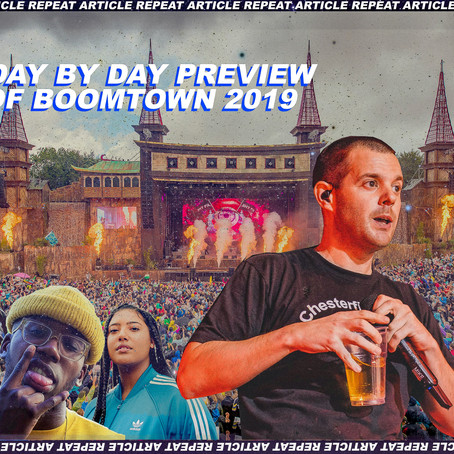 A DAY BY DAY PREVIEW OF BOOMTOWN 2019