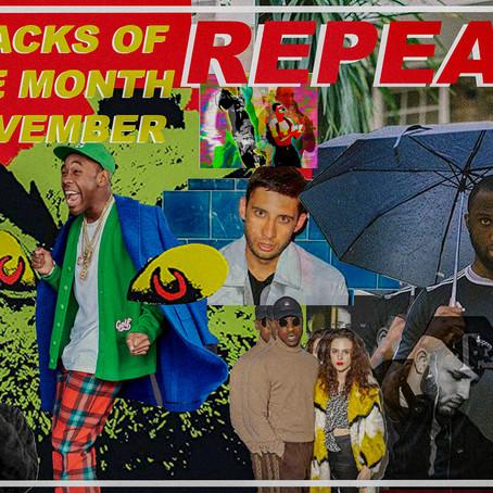 TRACKS OF THE MONTH - NOVEMBER