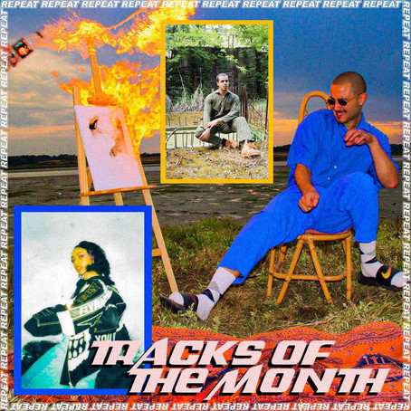 TRACKS OF THE MONTH - APRIL