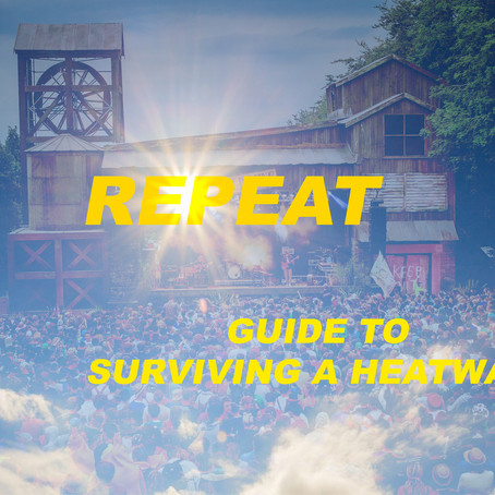 REPEAT'S ALTERNATIVE GUIDE TO SURVIVING THE HEATWAVE