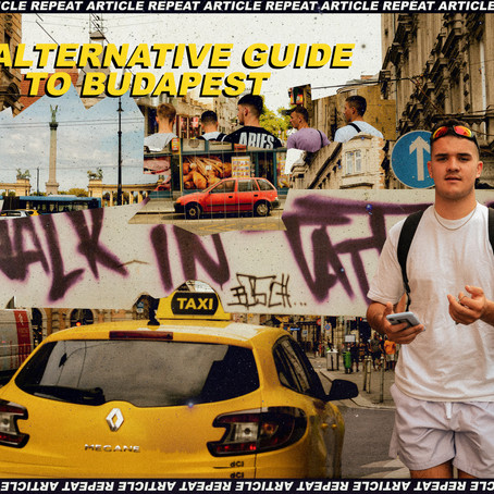 AN ALTERNATIVE GUIDE TO BUDAPEST