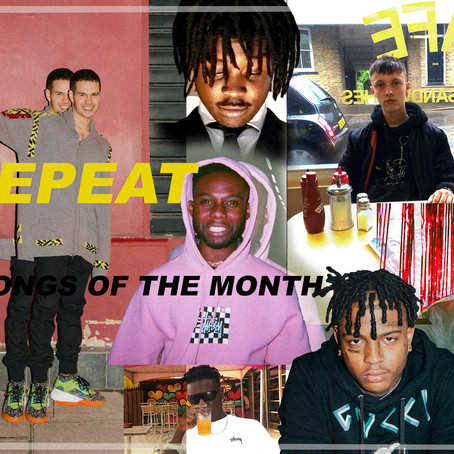 TRACKS OF THE MONTH AUGUST