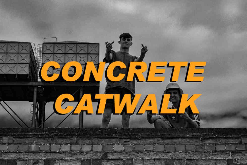 CONCRETE CATWALK