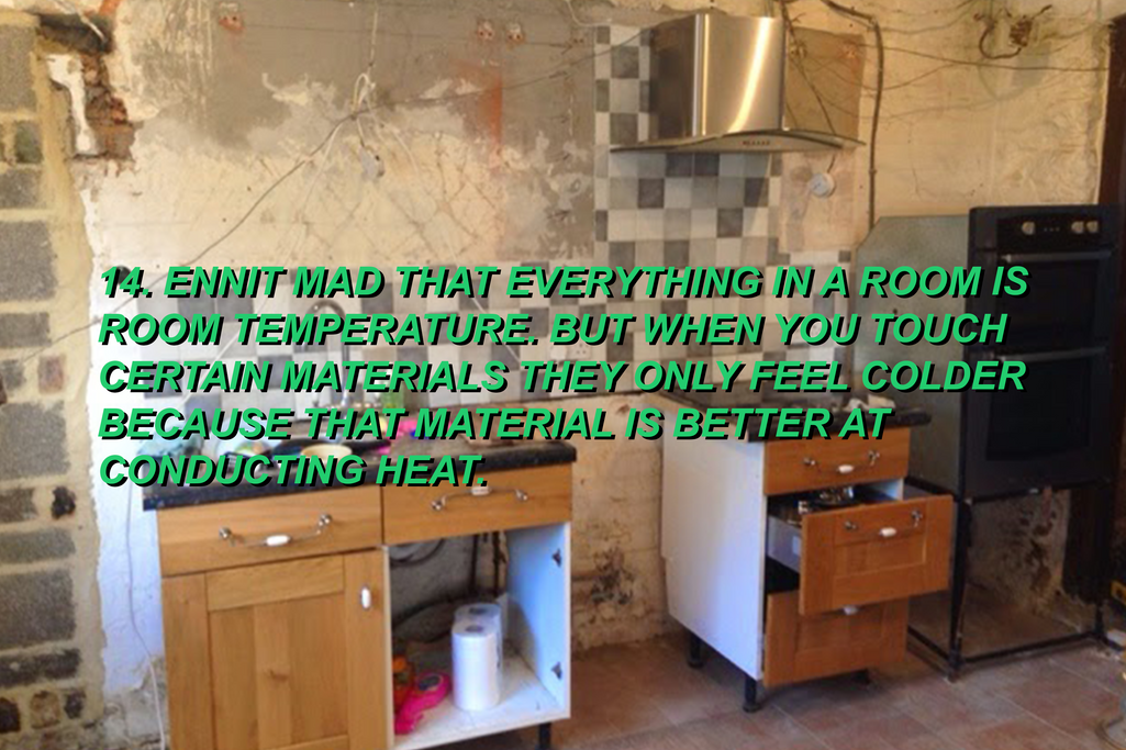 KITCHEN IS MISSING ONE THING..