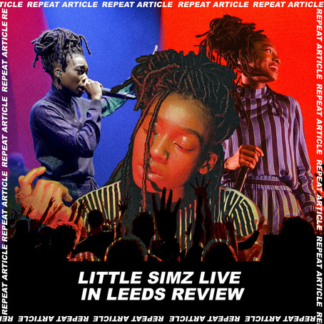 LITTLE SIMZ @ THE STYLUS LEEDS REVIEW