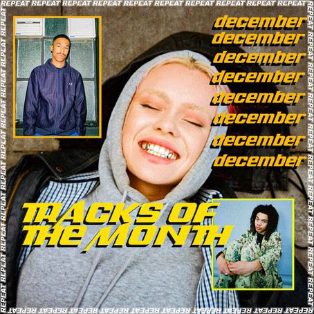 TRACKS OF THE MONTH - DECEMBER