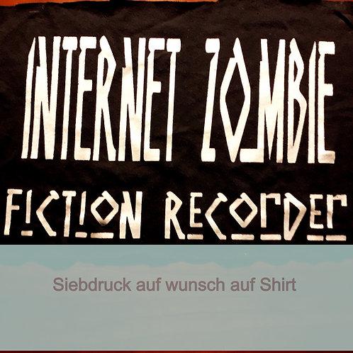 'Internet Zombie' von Fiction Recorder Siebdruck auf Bestellung