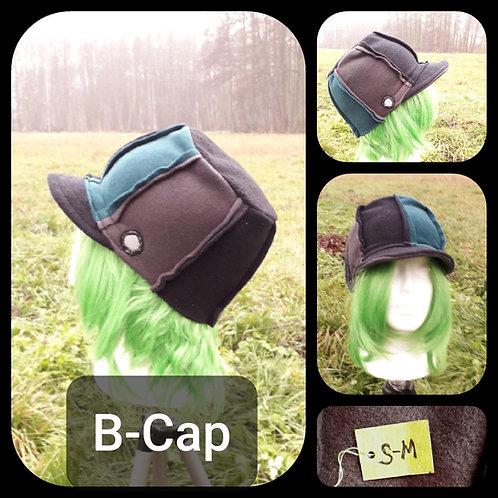B-Cap, flach, triColor, unisex, S-M