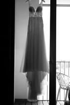 Brautkleid hängend