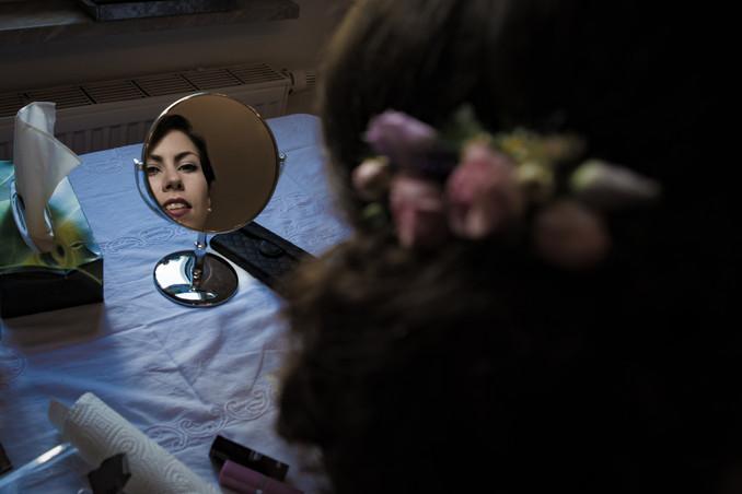 letzter Blick in den Spiegel
