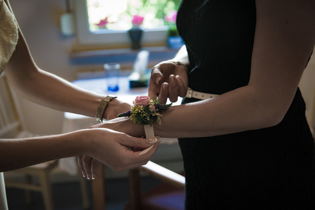 Armband für die Trauzeugin