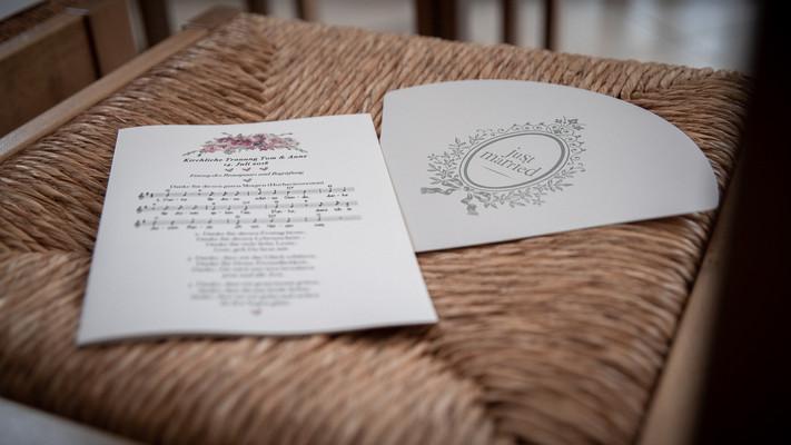 Liedblatt Kirche