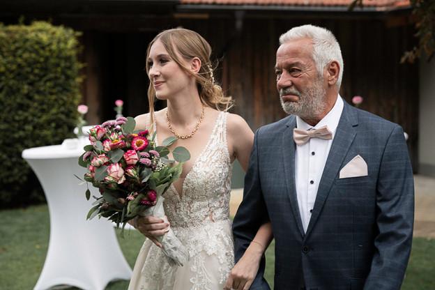 Nadja & Brautvater