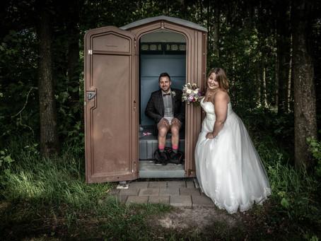 Spaßige Hochzeitsreportage mit Tatjana & Andrew bei Hüttlingen-Aalen