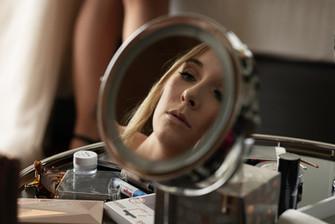 ein Blick in den Spiegel
