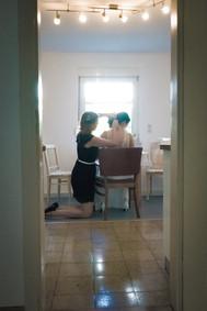 Brautstyling zu Hause