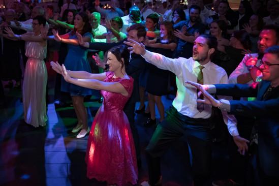 Flashmob für das Brautpaar