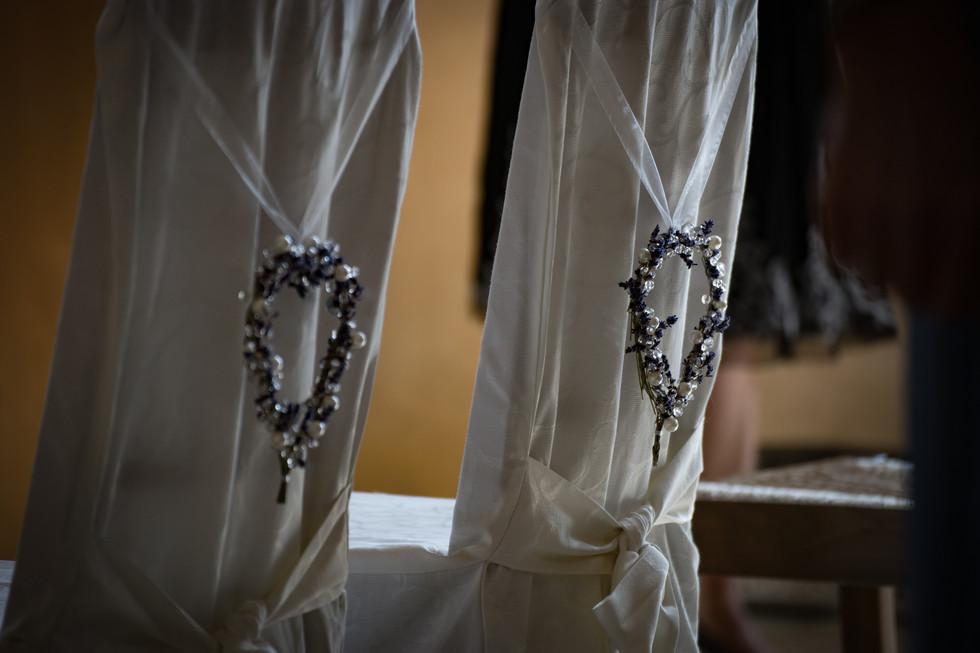 Brautpaarstühle Kirche