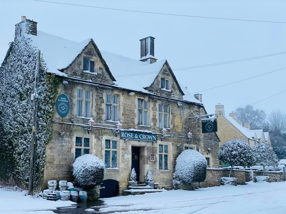 Rose & Crown pub Nympsfield
