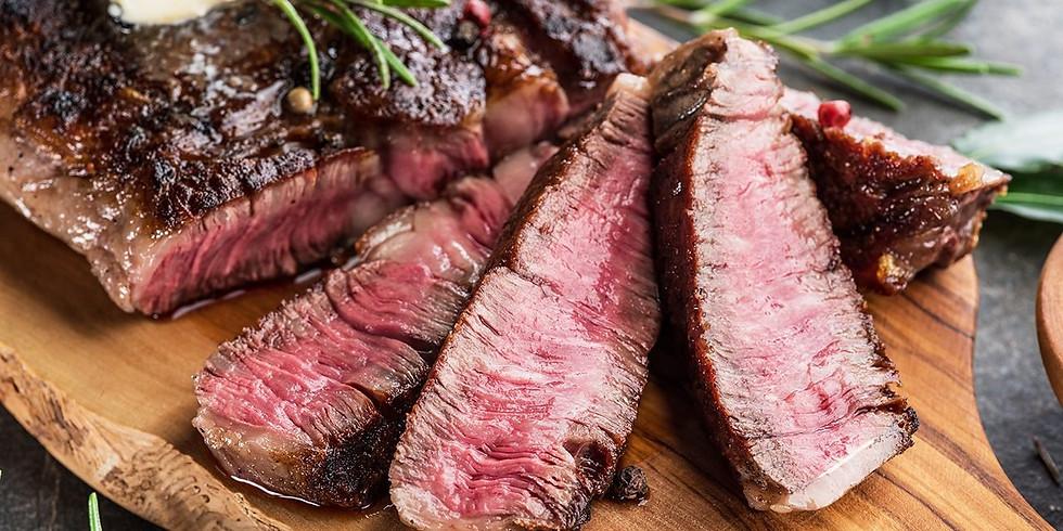 Steak & frites lunch