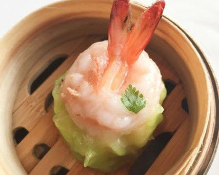 Steamed Q & Springy Shrimp Dumpling ( Siu Mai )