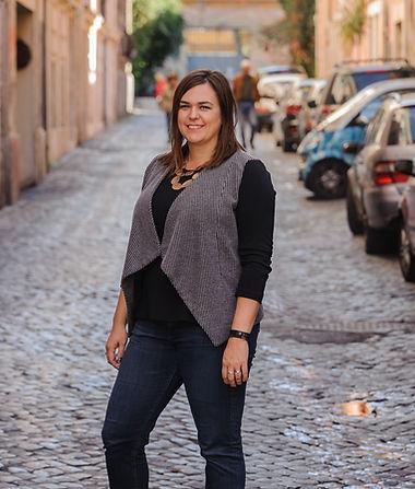 Ashley Metesh-McCoy in Rome -Siobhan wit