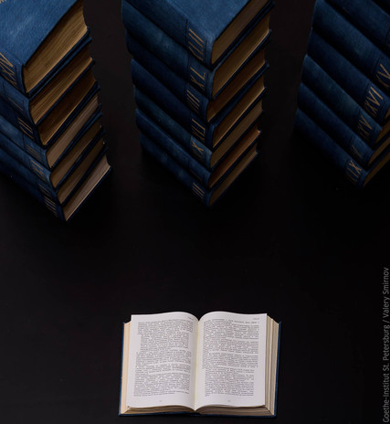 The blue series : books