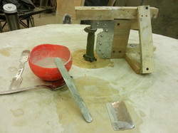 production of pedestal