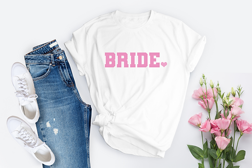 Varsity Bride - Baby Pink