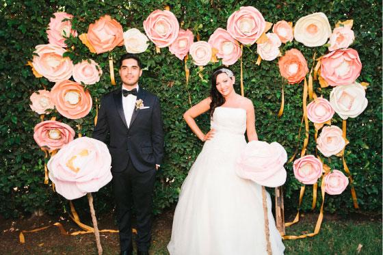 Wedding trends 2017 paper flowers enchanting engagement wedding trends 2017 paper flowers enchanting engagement wedding planners los angeles long beach ca mightylinksfo