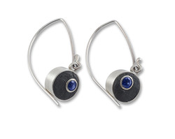 Redesigned sapphire earrings