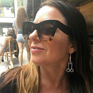 Myf Warhurst with her cock earrings