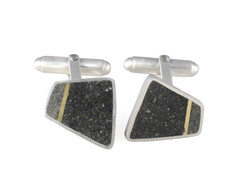 Cultured and Manly cufflinks