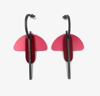 Anna Weber Poppy Bird Earrings