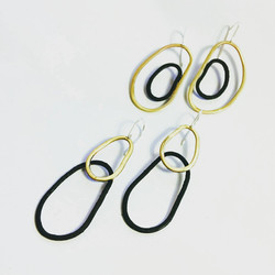 Brass and Iron earrings