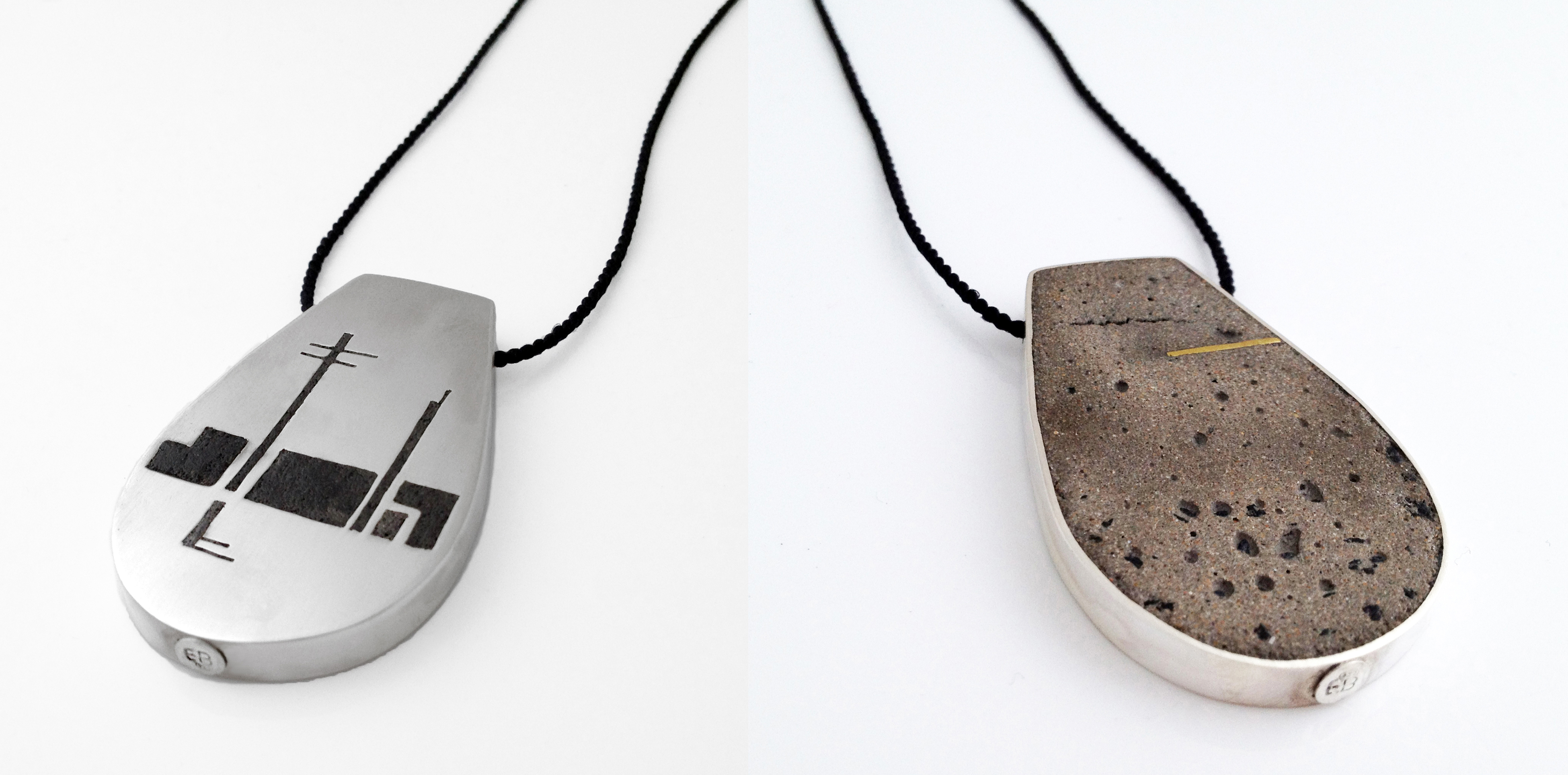 innercity double reversable necklace