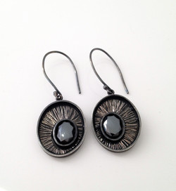 Black eyed pea earrings