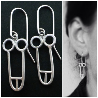 cock earrings (small)