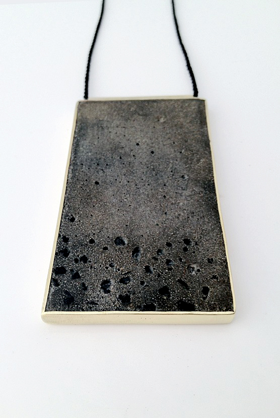 Slab necklace (reversible) 2014