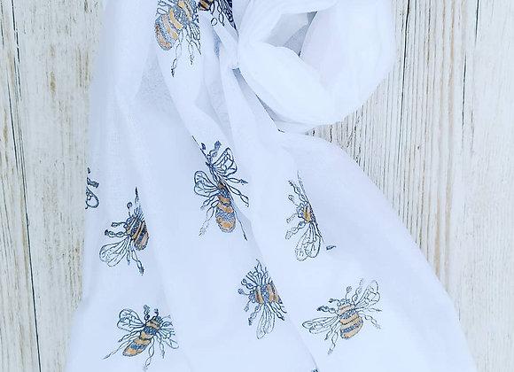 Bumble bee scarf