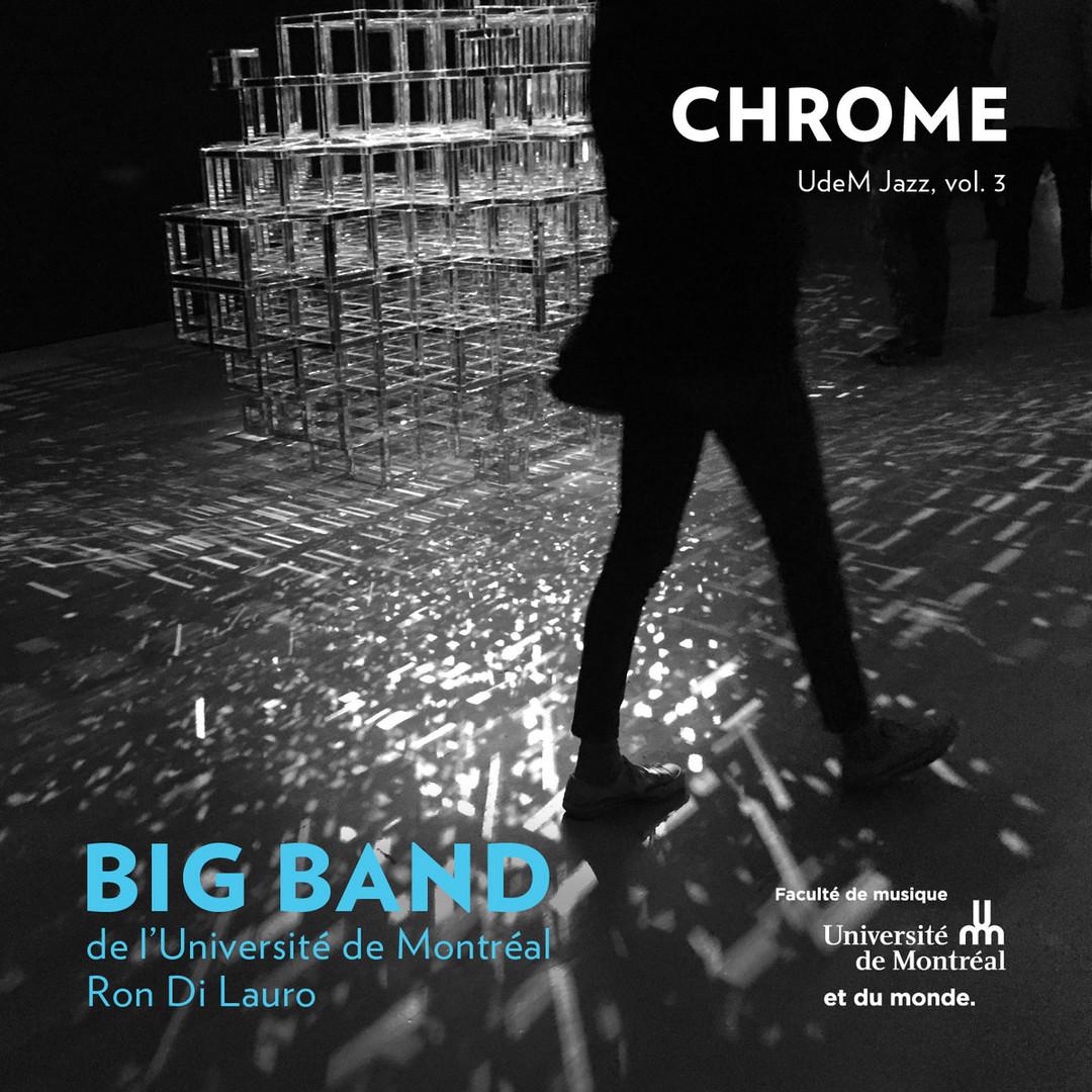 Big Band de l'Université de Montréal - Chrome