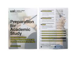 Course promo flyer, A5