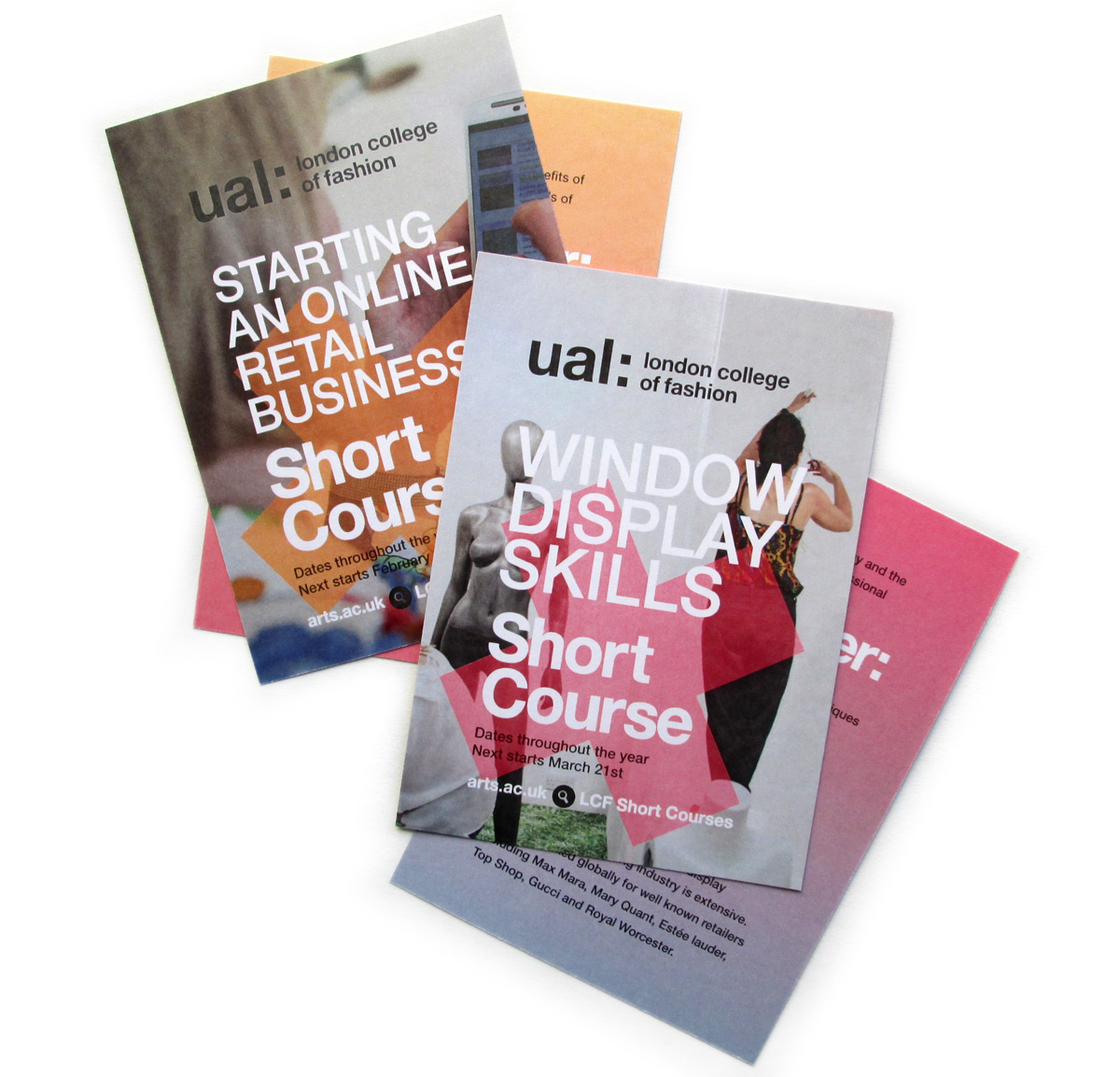 Course promo flyer, A6